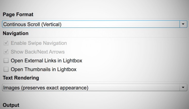 Exporter en HTML5 à partir d'InDesign avec In5