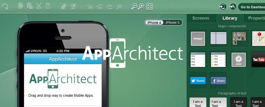 AppArchitect fabrique vos applications en ligne