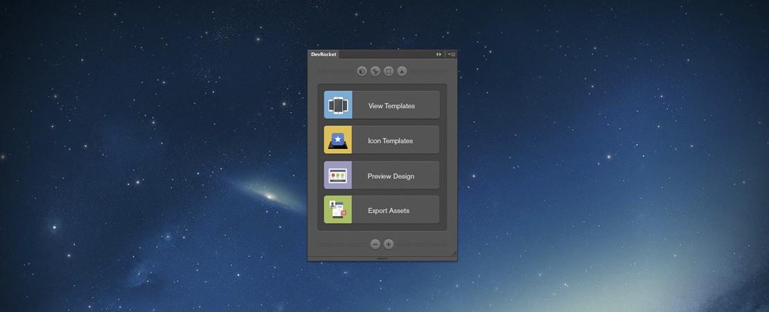 DevRocket accélère la création de votre design d'application avec Photoshop