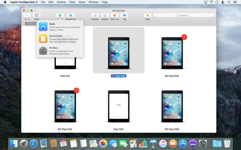 Apple Configurator passe la deuxième