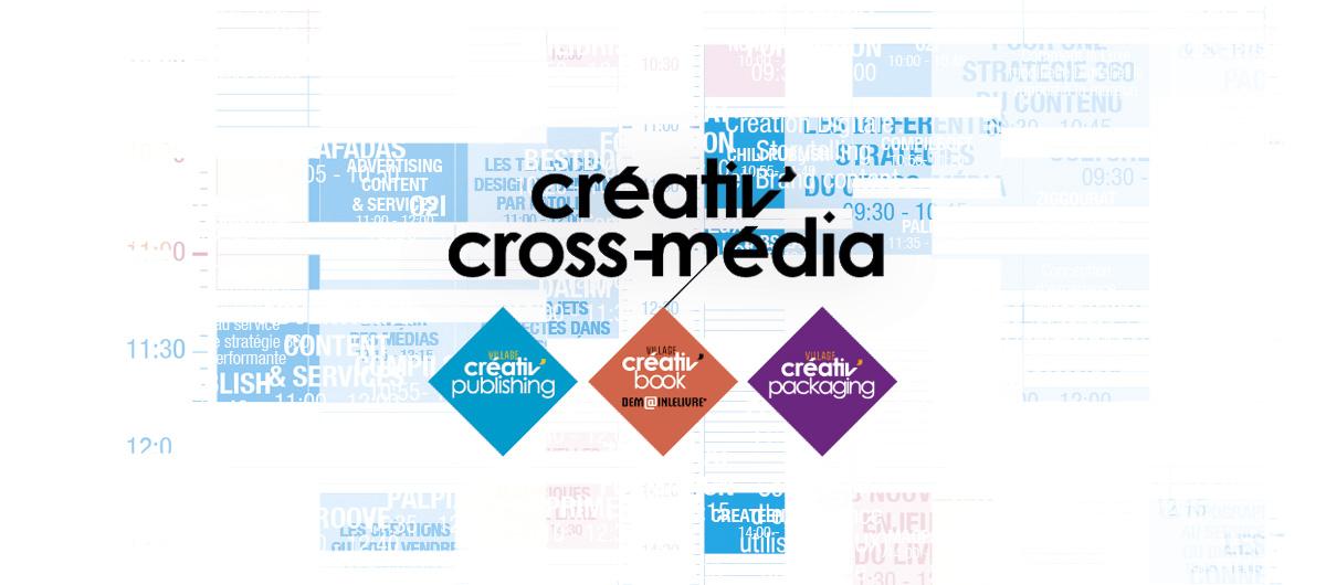 Créativ'Cross Média, téléchargez le programme !