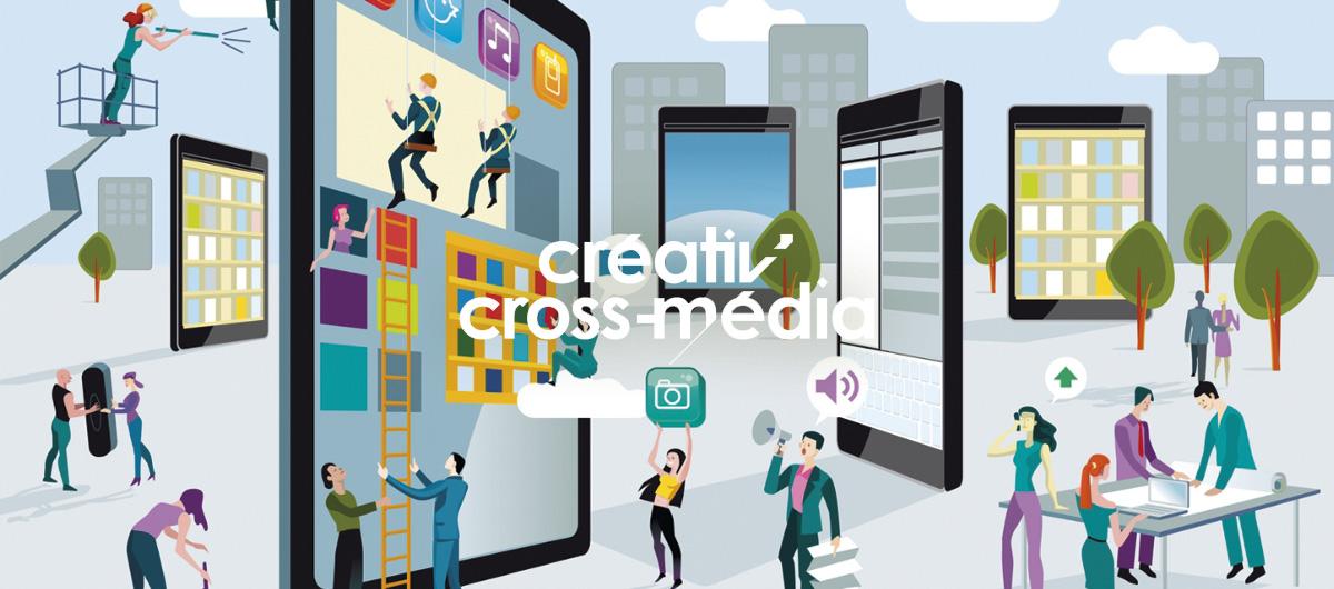 Créativ'cross Média : les différentes stratégies du cross-média