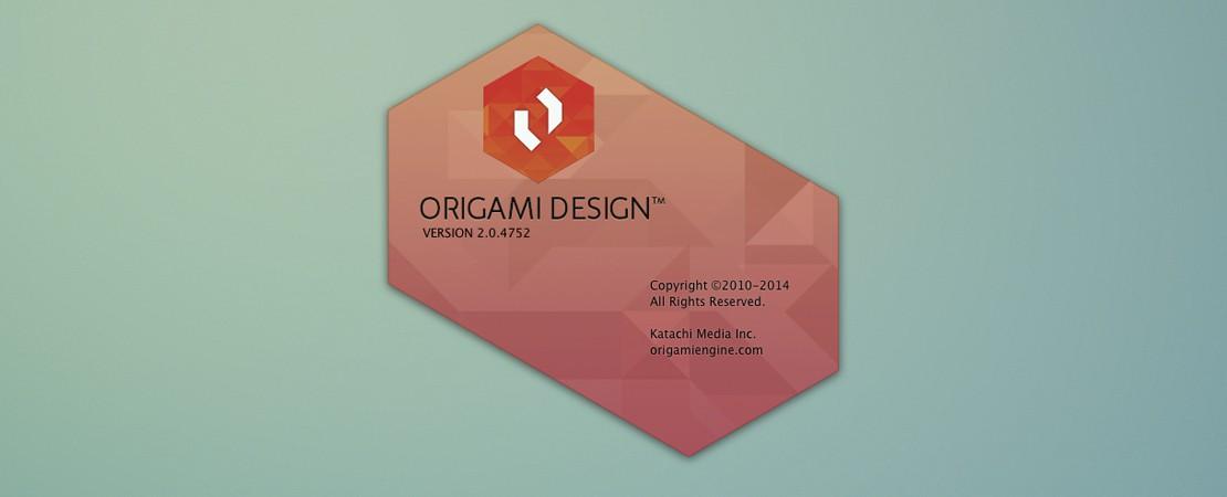 Introduction à Origami Design, mise à jour de l'article avec les nouveaux tarifs
