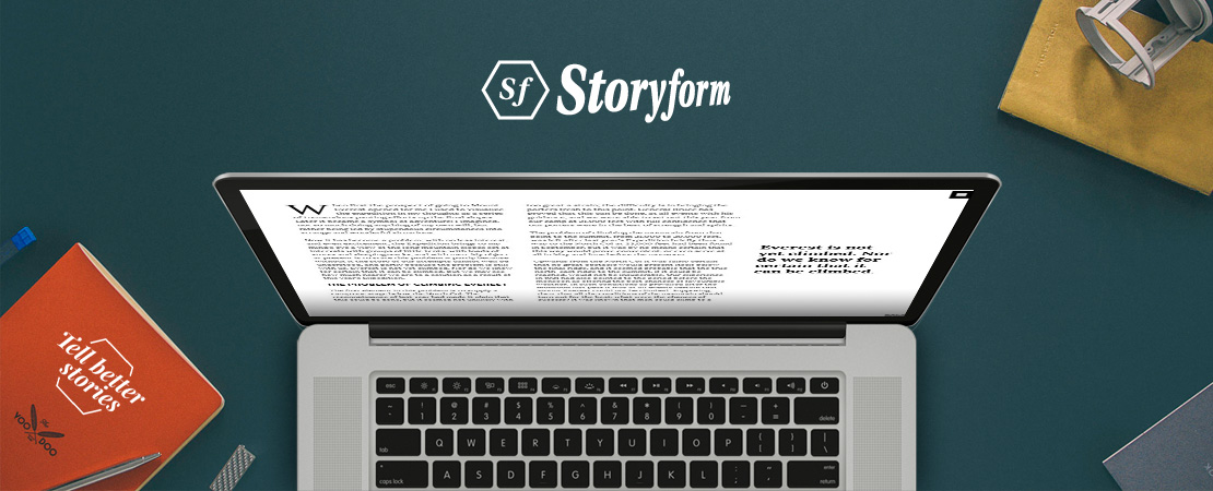 Storyform, immersive narratives stories