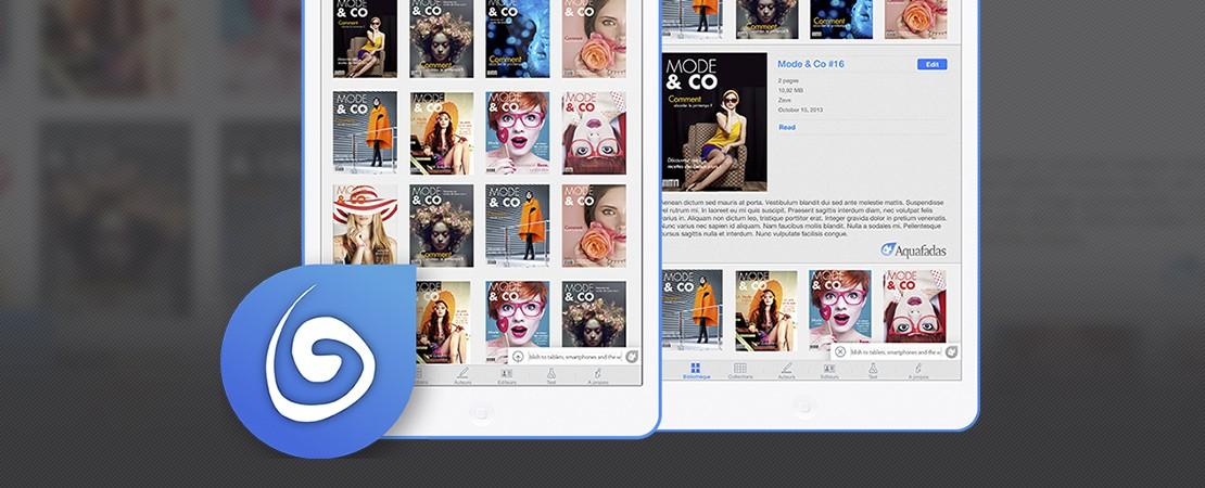Aquafadas Viewer, la nouvelle version de myKiosk est disponible au téléchargement