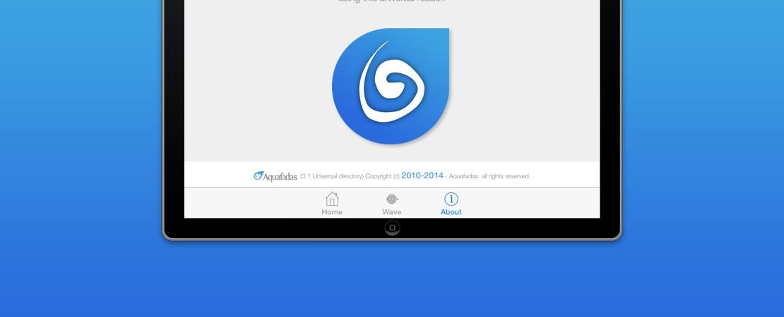 Aquafadas viewer version 3.3 est aussi disponible pour iOS simulator