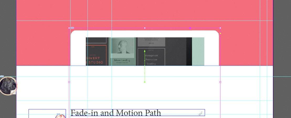 Tuto Aquafadas : trajectoires d'objets (Motion Path) et animations