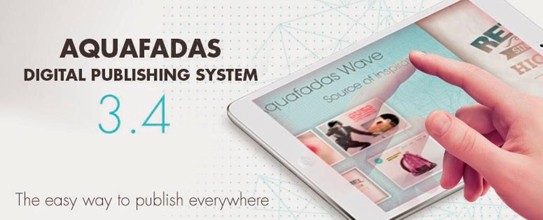 Aquafadas Digital Publishing system 3.4 : une nouvelle expérience de lecture avec NextGenReader