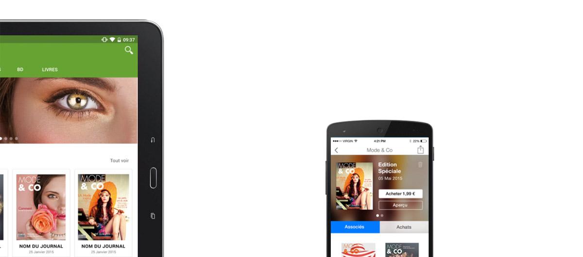 AppFactory, Aquafadas Viewer et NextGen Kiosk