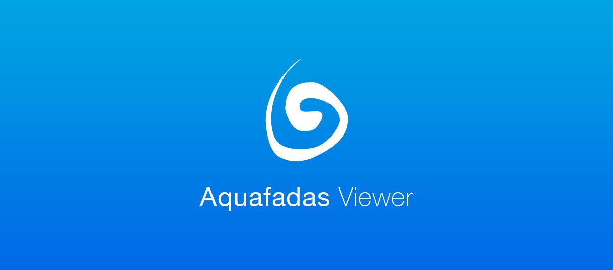 Preview d'un fichier .zave dans iOS simulator avec Aquafadas Viewer