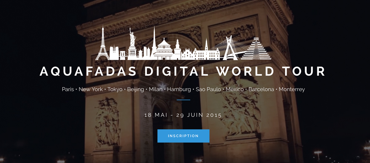 Aquafadas Digital World Tour 2015