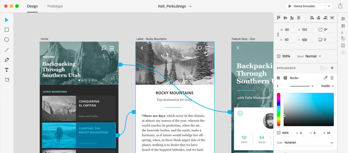 Adobe présente le projet COMET, un nouvel outil de prototypage