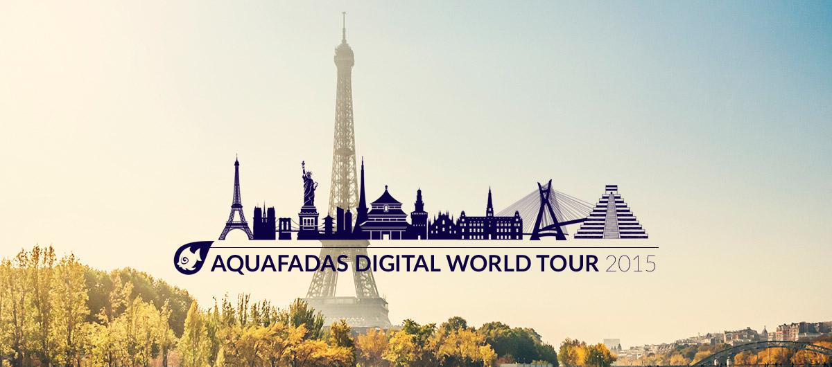 Electric News en direct du Aquafadas Digital World Tour Paris !
