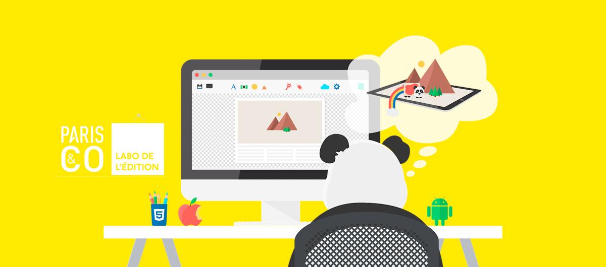 Deuxième atelier découverte Pandasuite au Labo de l'édition