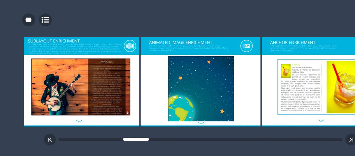 Fonctionnalités du nouveau webreader HTML5 chez Aquafadas