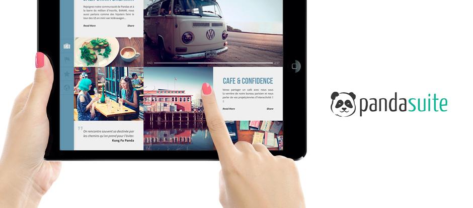 Cross-media Publishing, interview de PandaSuite