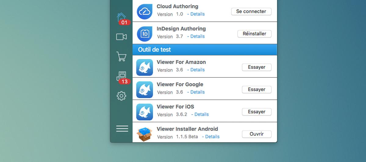 Aquafadas, le plugin InDesign est mis à jour en version 3.7 avec un nouvel export HTML5 et le retour de la fonction map !