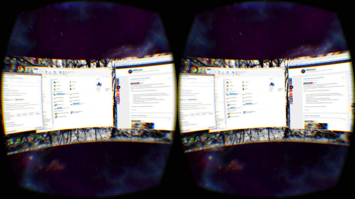 VR Virtual Desktop