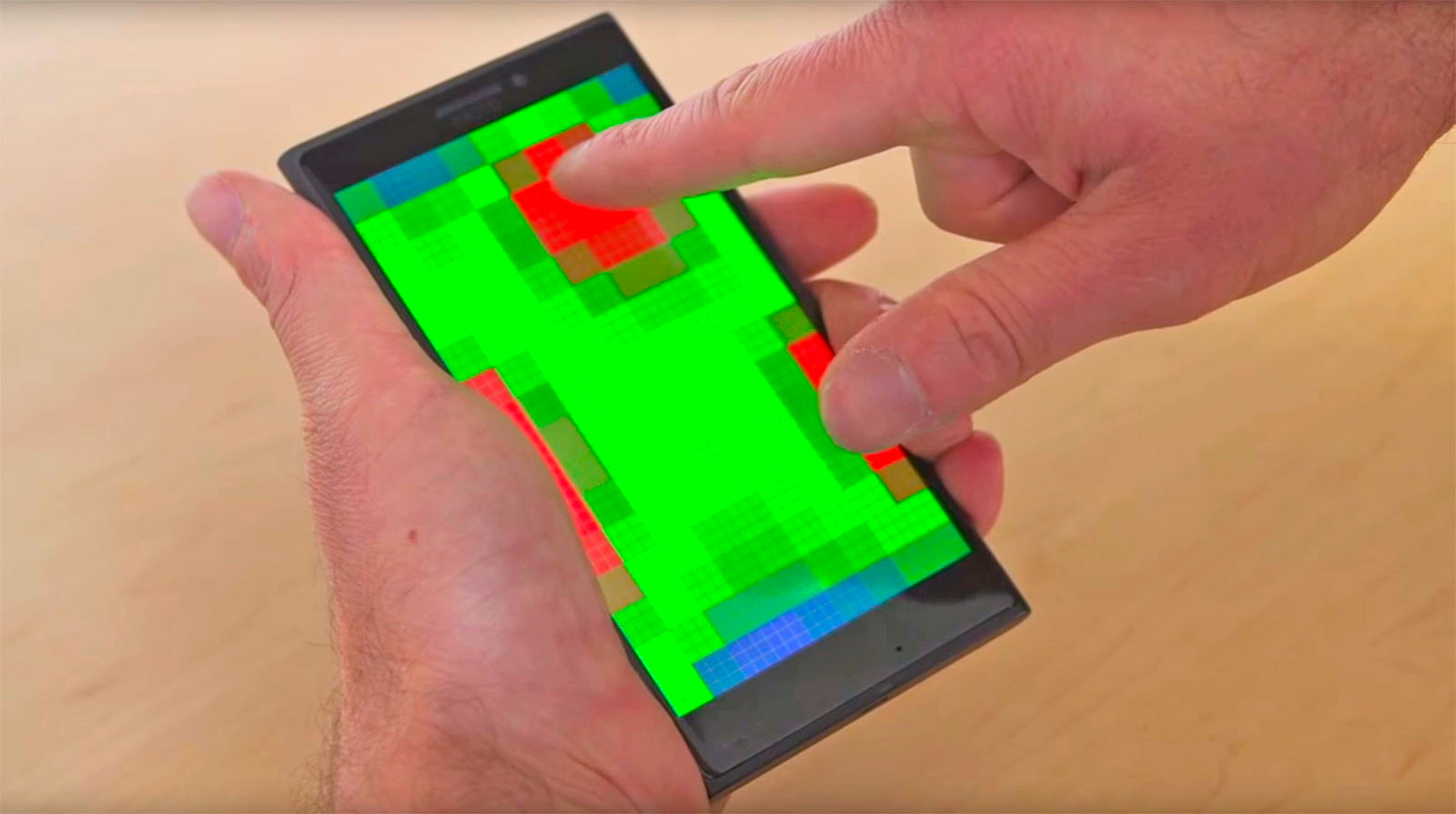 Microsoft Pre-Touch Sensing for Mobile Interaction