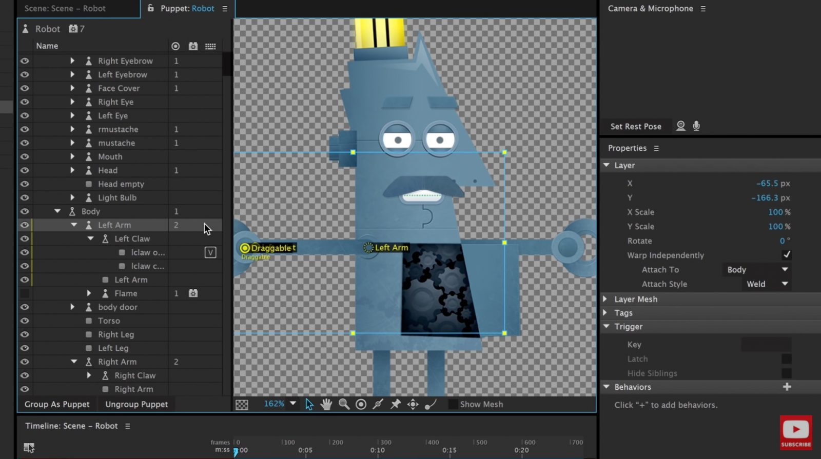 Character Animator (Preview 4) Makes Animation Easier