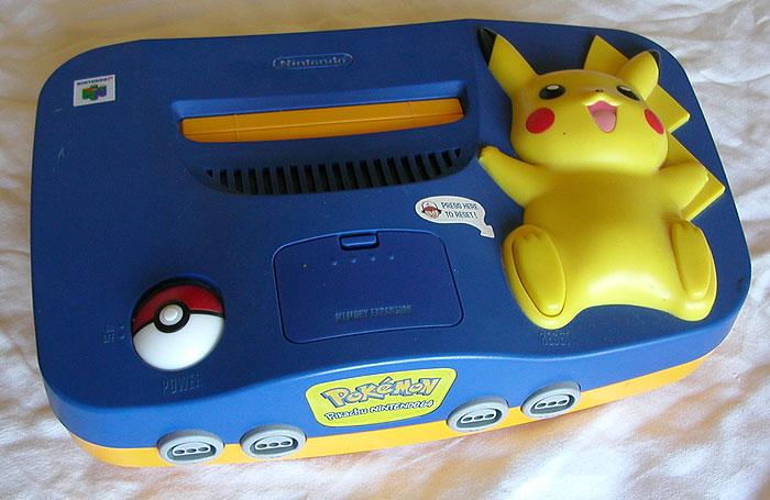 Nintendo-64_pikachu