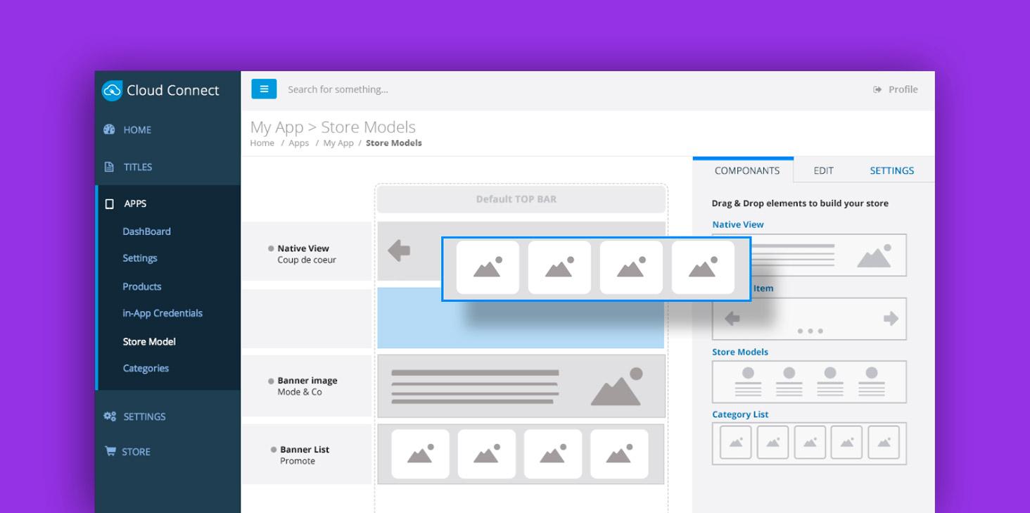 Aquafadas : Nouvelle interface pour Cloud connect & Powerpoint to mobile