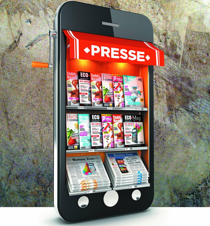 La presse Print et numérique : des chiffres en augmentation pour le numérique