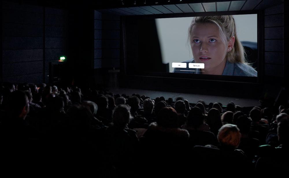 Une expérience interactive… au cinéma !