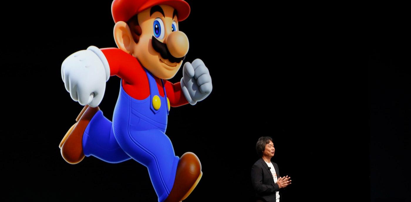 Super Mario débarque sur IOS