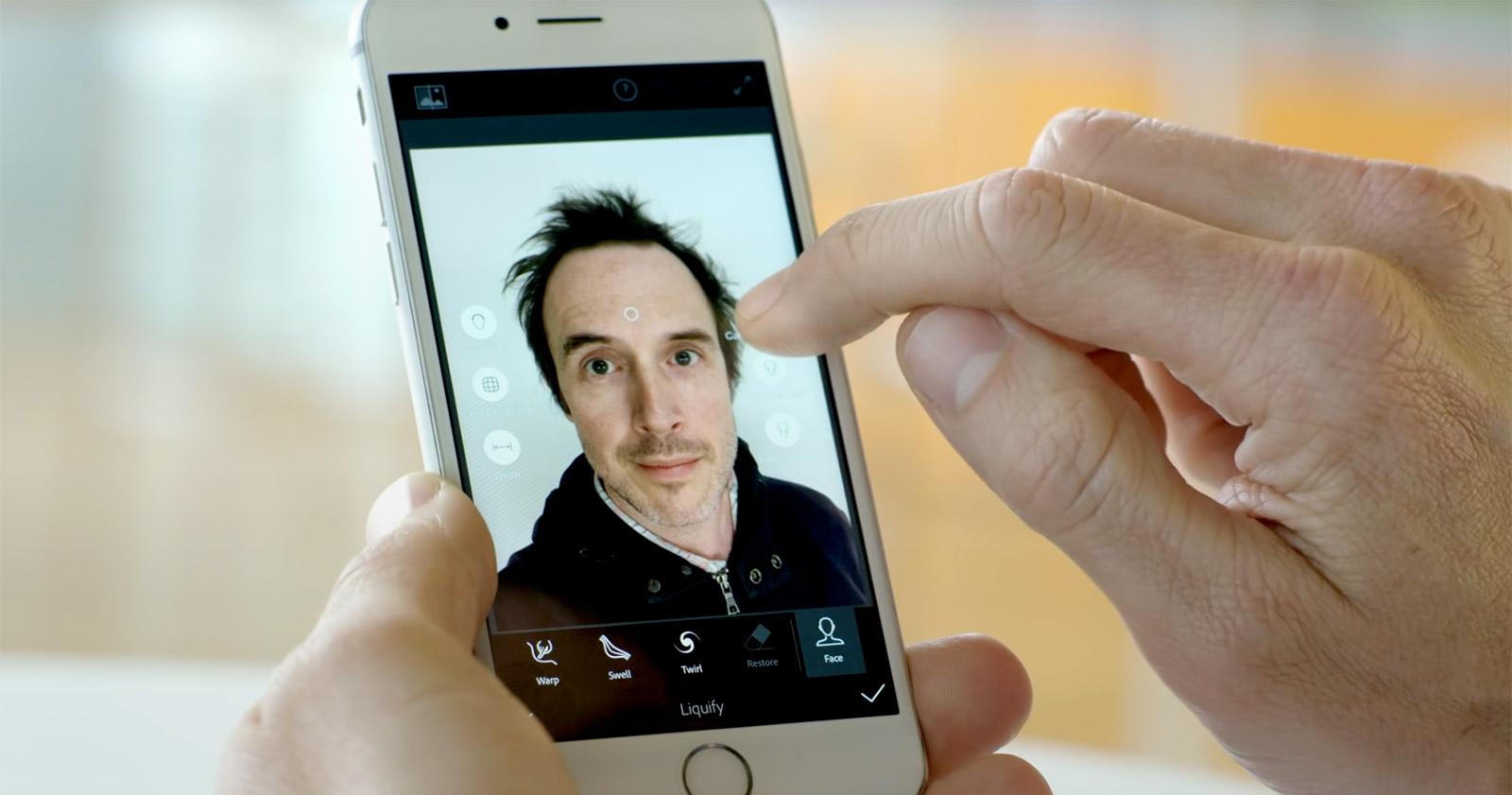 Adobe veut améliorer vos Selfies