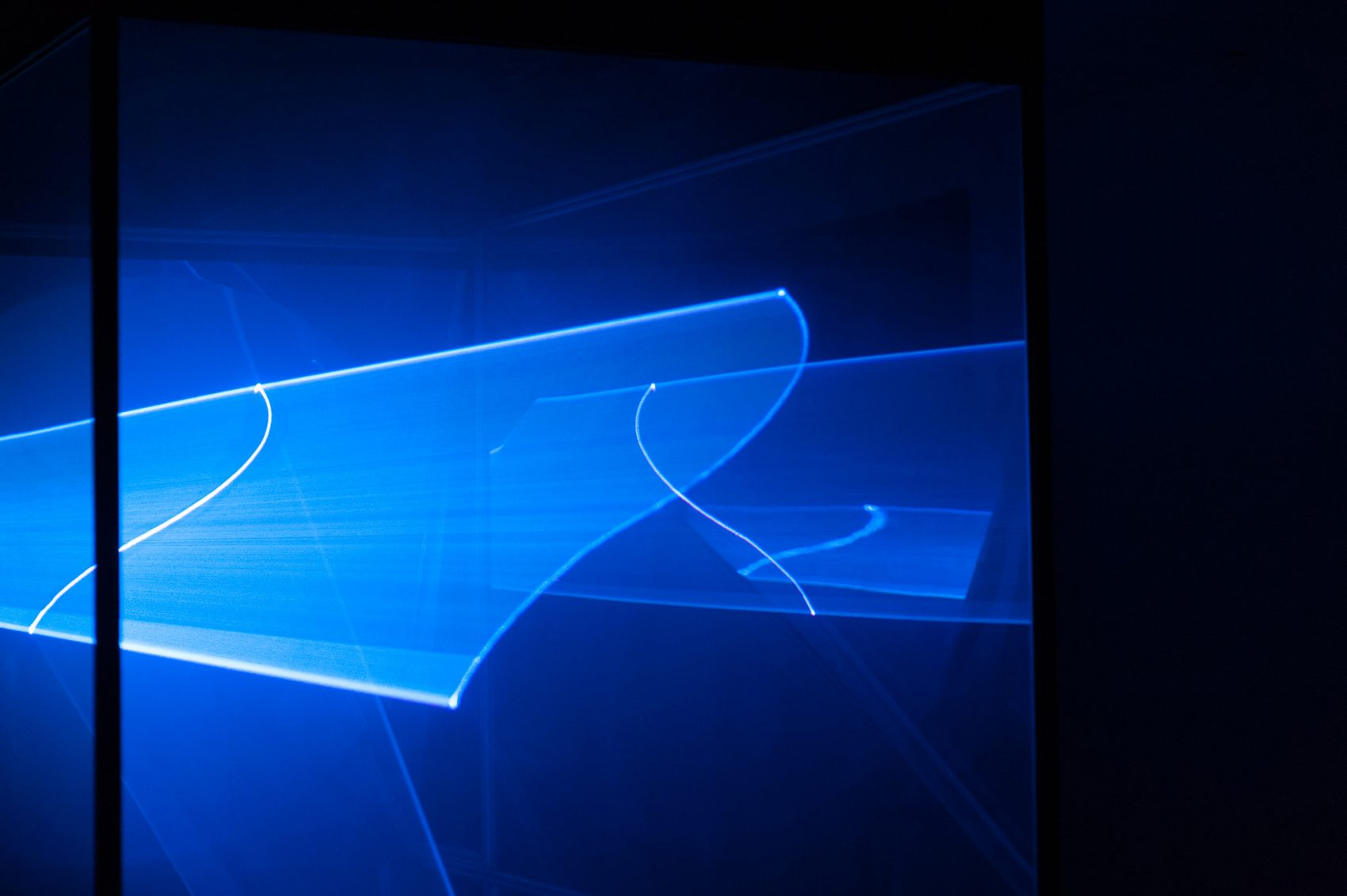 Lumarium, une œuvre taillée au laser qui défie les lois de la physique