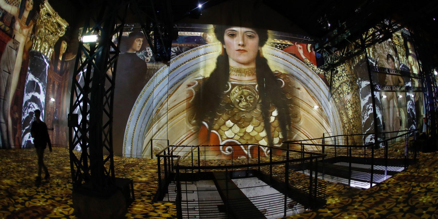 Ouverture de l'Atelier des Lumières,  centre d'Art Numérique à Paris