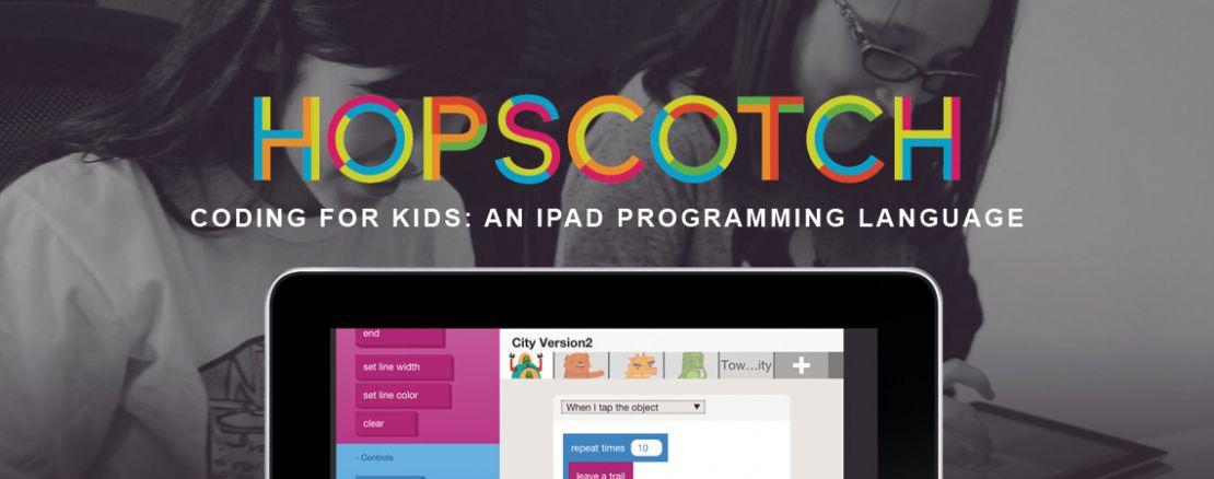 Hopscotch, une application gratuite pour apprendre aux enfants à coder !