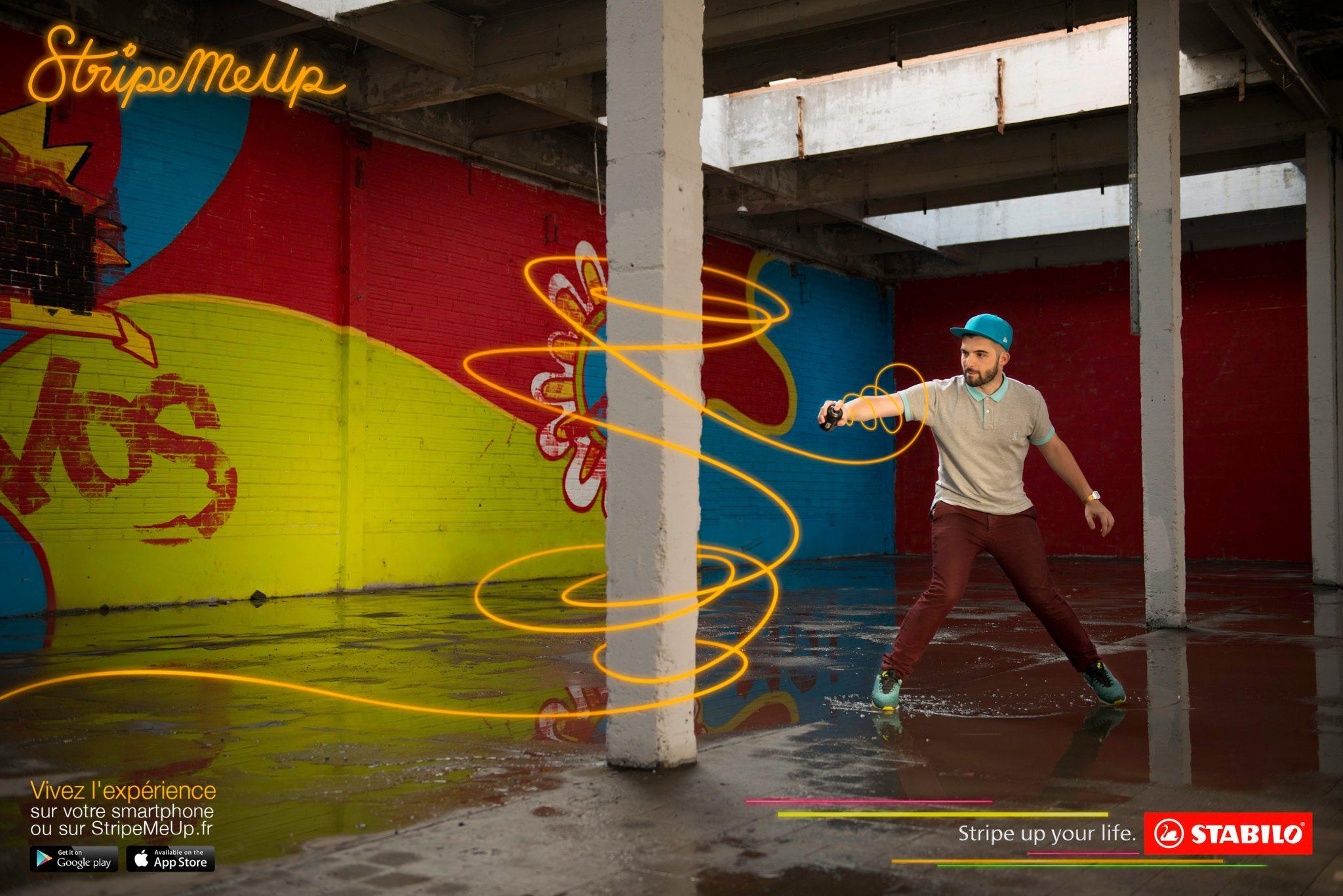 L'app Stabilo inspirée du light painting