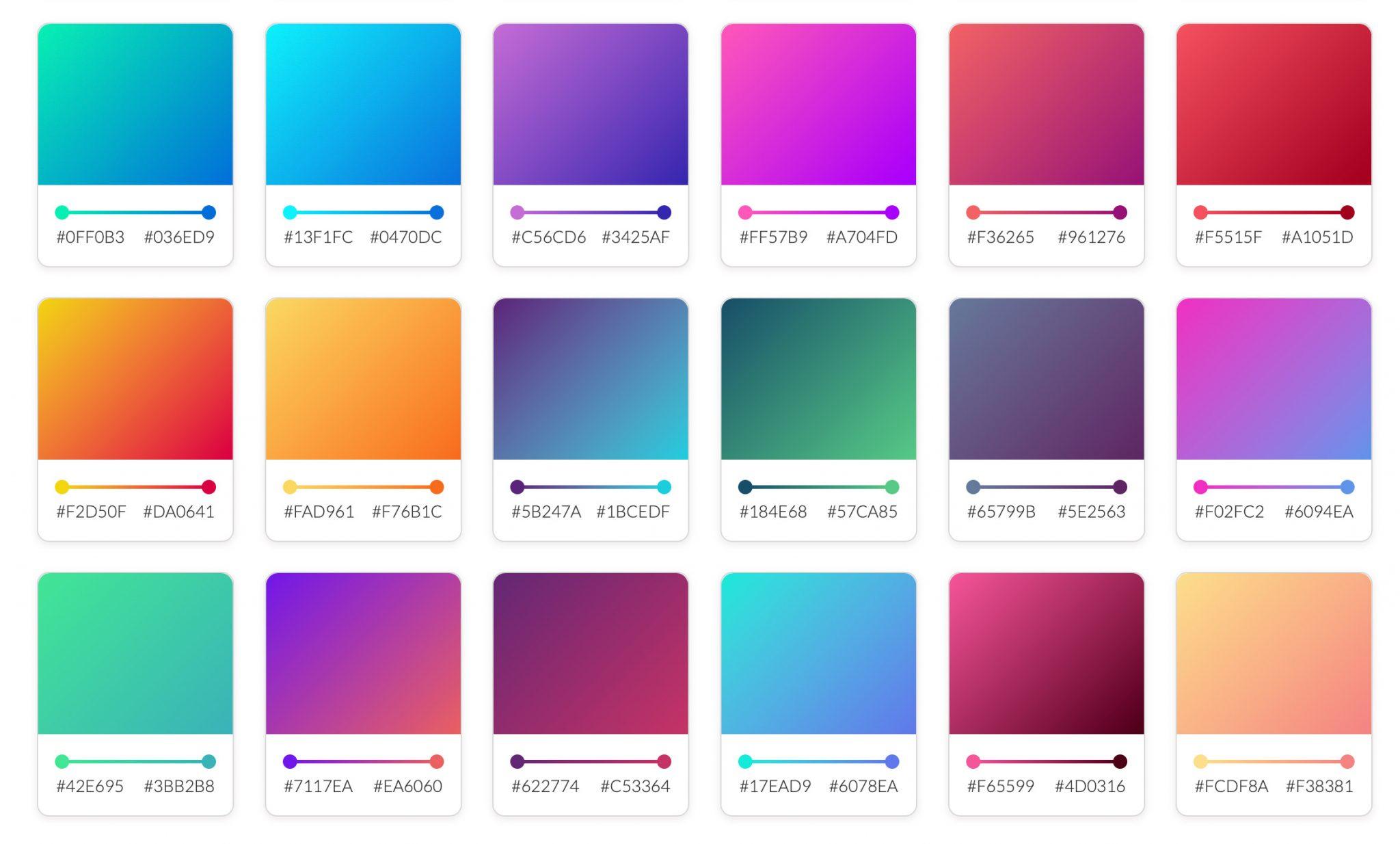 Des ressources gradients CSS pour les développeurs